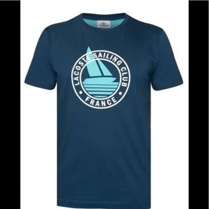 ❤️❤️ Lacoste Sailing Club Applique Graphic